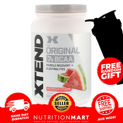 AU99.90 • Buy Scivation Xtend BCAA 90 Serves Branched Chain Amino Acids BCAAs Recovery Powder