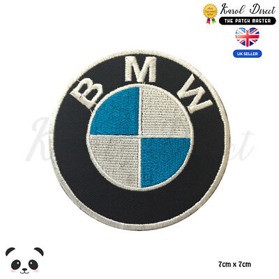 £1.99 • Buy BMW Motor Car Brand Logo Embroidered Iron On Sew On PatchBadge For Clothes Etc