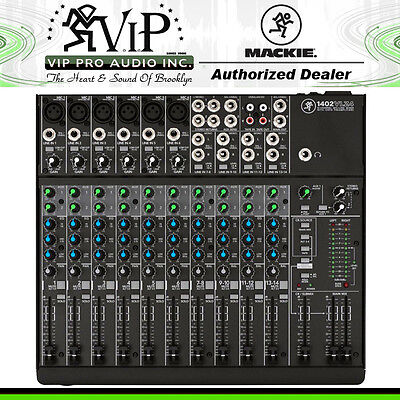 $429.99 • Buy Mackie 1402VLZ4 14-Channel Compact Mixer W/ Onyx Mic Preamps VIP PRO AUDIO (NEW)