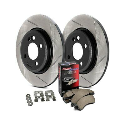 For BMW 318i 1991 StopTech 937.34527 Street Slotted Rear Brake Kit • 189.48$