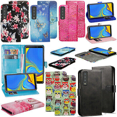 For Samsung Galaxy A7 2018 - PU Leather Wallet Stand Flip Phone Case Cover  • 3.05£