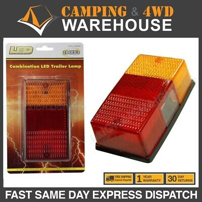 AU32 • Buy Led Combination Trailer Lamp 12v 50000hrs 24 Indicator-stop-tail-license Plate