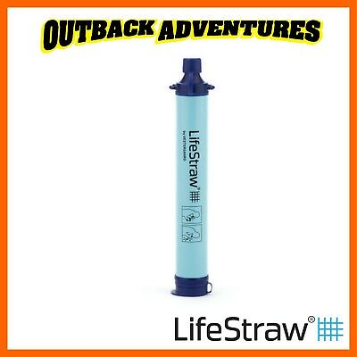 AU39.95 • Buy Lifestraw Personal Water Filter Ultralight Hiking Camping Emergency