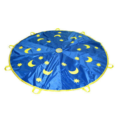 £11.11 • Buy 6ft Moons & Stars Printed Kids Parachute Indoor Outdoor Game Play Fun Toy