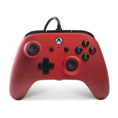 AU65.95 • Buy Xbox One Enhanced Wired Controller (Crimson Fade)