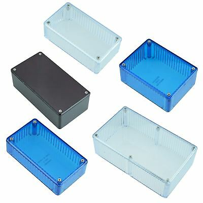 £6.49 • Buy Red Blue Clear Polycarbonate 1591 Series Hammond Electronics Enclosure Box