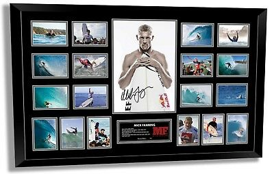 AU189.99 • Buy Mick Fanning Farewell Signed Photo Framed Limited Edition Memorabilia