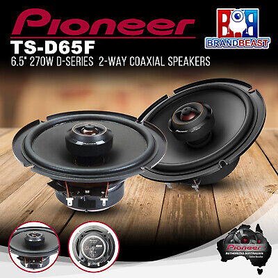 "AU177.63 • Buy Pioneer TS-D65F 270W 6.5"" 2-Way Coaxial Speaker System"