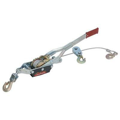 £40 • Buy Neilsen 4 Ton Hand Puller / Turfer With 3 Hooks & 3 Meter X 6mm Cable CT0515