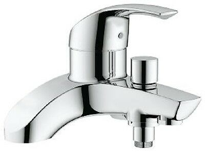 GROHE Eurosmart Bath Shower Mixer Tap Single Lever Deck Mounted 25105000 • 159.95£