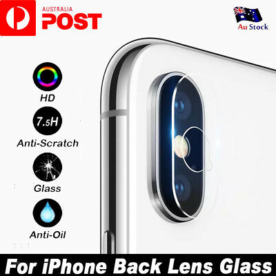 AU2.75 • Buy Apple IPhone XS Max XR XS X 7 8 Plus Camera Lens Tempered Glass Screen Protector