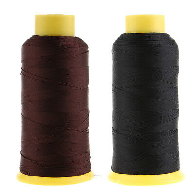 £9.34 • Buy 2pcs 900 Meters Strong Bonded Nylon Sewing Threads For Canvas Tent Leather