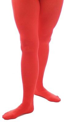 Christmas/Pixie/Elf/Fancy Dress Ladies RED OR GREEN ELF TIGHTS Fits Sizes 10-14 • 3.25£