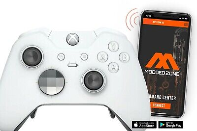 $254.95 • Buy  White Edition  Xbox One ELITE Rapid Fire Modded Controller 40 Mods For COD&more