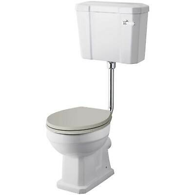 Hudson Reed Richmond Comfort Low Level Close Coupled Toilet Cistern No Seat • 165.95£