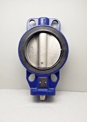 $89.99 • Buy New Keystone Paraseal Butterfly Valve Dn150 Pn25 Emerson 6  Valve 25bar