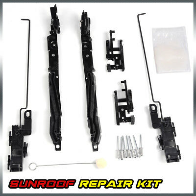 $22.98 • Buy For Jeep Liberty Sunroof Repair Kit 2003 2004 2005 2006 02-08 Black