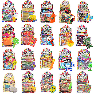 Bulk Buy Job Lot Wholesale Kids Party Bag Fillers Xmas Stocking Toy Prize Gift • 14.99£