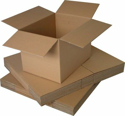 SMALL MEDIUM LARGE Cardboard House Moving Boxes - Removal Packing Box • 13.19£