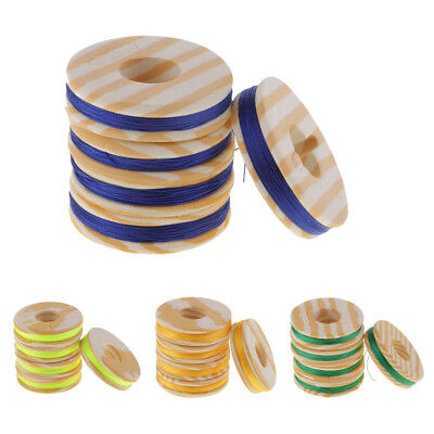 Prettyia 5pcs Nylon Whipping Wrapping Threads For Fishing Rod Ring Guide • 4.53£