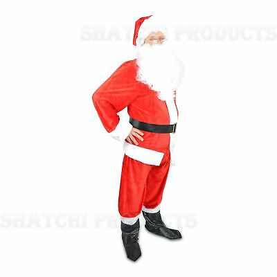 Men's Extra Large Santa Claus Costume Father Christmas Fancy Dress Outfit Suit • 24.99£
