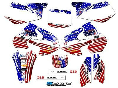 $159.99 • Buy 1999 2000 Suzuki Rm250 Rm 250 Graphics Kit 99 00 Decals Deco Stickers Motocross