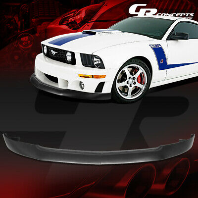 $159.95 • Buy Abs Racing Front Bumper Lip Splitter Spoiler Body Kit For 05-09 Ford Mustang Gt