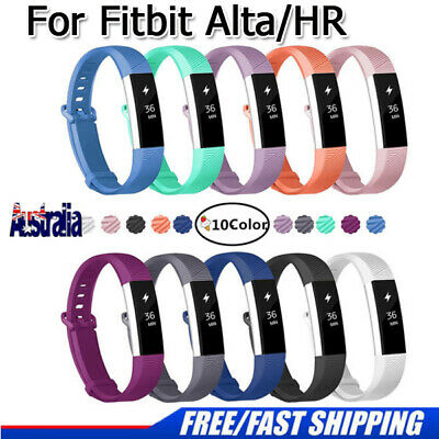 AU5.99 • Buy New Replacement Silicone Wrist Band Secure Buckle For Fitbit Alta HR / Alta 2