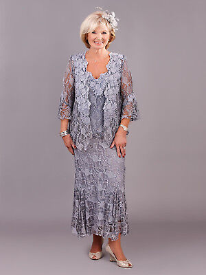 Ann Balon Special Occasion Dress And Jacket Size 10 - Perfect For Wedding Etc • 250£