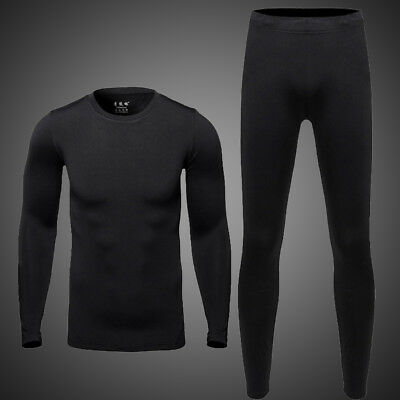 $14.99 • Buy Thermal Underwear Men Ultra-Soft Long Johns Set With Fleece Lined Base Layer