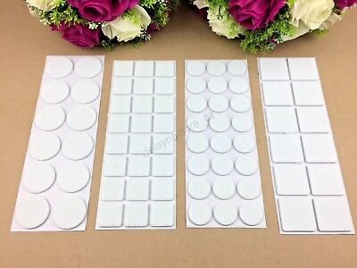 AU4.89 • Buy Felt Square Round Pad Furniture Floor Protector Pads Self Adhesive Scratch Tabs
