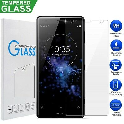 $ CDN6.99 • Buy  2x For Sony Xperia XZ2 Compact Tempered Glass Screen Protector Film Guard