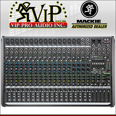 $699.99 • Buy NEW Mackie PROFX22V2 22-Channel Mixer Board With Effects, 48V Phantom Power