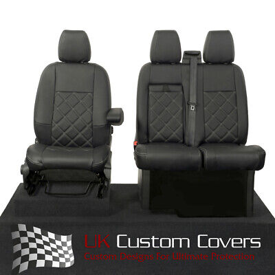 £79.95 • Buy Ford Transit Custom - Leather Look Front Seat Covers 2013 On 237