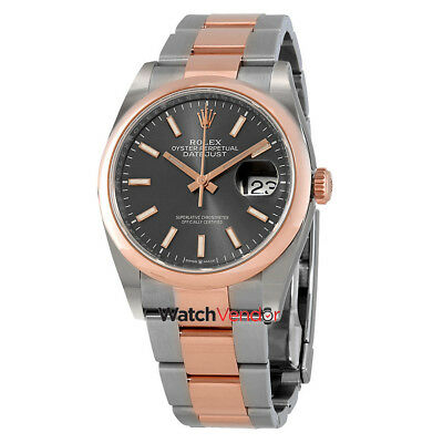 $ CDN14709.99 • Buy Rolex Datejust 36 Men's Steel And 18k Everose Gold Oyster Watch 126201DRSO