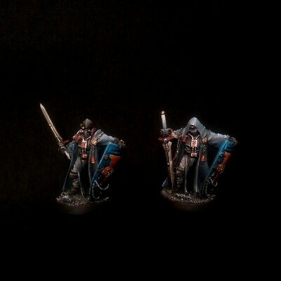 AU114.57 • Buy PRO-PAINTED Inquisition Crusaders Duo Kill Team COMMISSION 2 Models