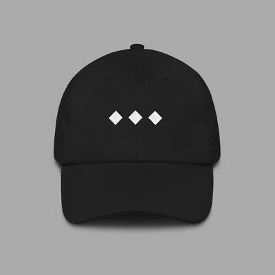 Trilogy The Weeknd RnB Dad Hat (Black) - Curved Brim Baseball Style  Headwear • 7d3bef6cf18