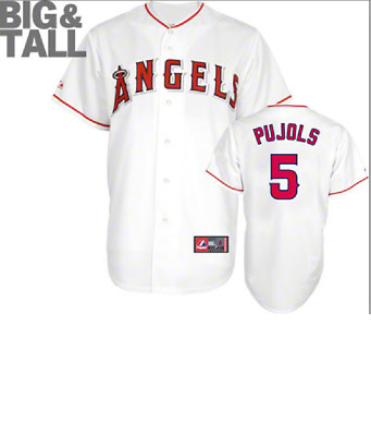 $31.99 • Buy Majestic Big & Tall Los Angeles Angels #5 Baseball Jersey New Mens Sizes