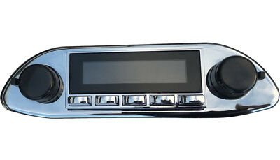 Porsche 356 Chrome Replacement Radio With AM FM Bluetooth USB Aux Hermosa • 299.99£