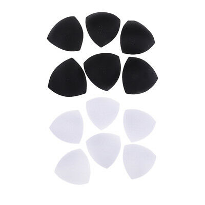 6 Pairs Triangle Replacement Bra Pads Removable Foam Women Ladies Push Up • 5.84£