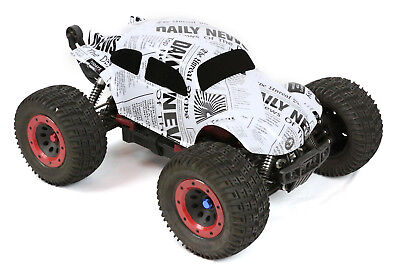 Custom Buggy Body News Paper For 1/8 RC Truck Thunder Tiger MT4 G3 HPI Savage • 21.44£