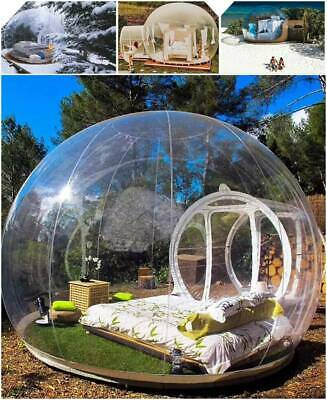 AU1135 • Buy 5M Inflatable Eco Home Tent DIY House Luxury Dome Camping Cabin Lodge Air Bubble