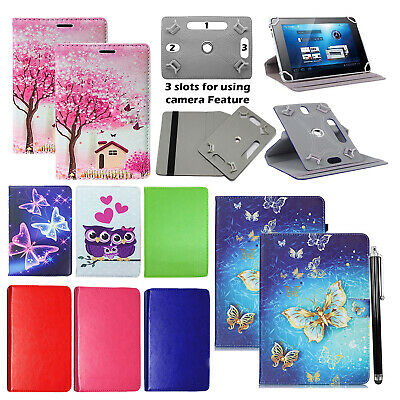 Huawei MediaPad T5 (10.1 Inch) Tablet 360° Universal PU Leather Flip Case Cover • 4.49£