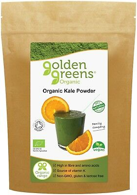£9.45 • Buy Kale Powder 200g - Certified Organic, 100% Pure, Foil-lined Re-sealable Packet