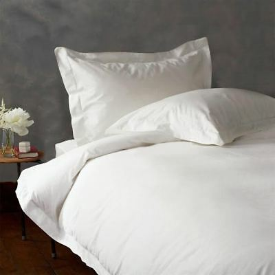 5 PC Duvet Cover Set 1000 Thread Count New Egyptian Cotton White Solid UK Sizes • 67£