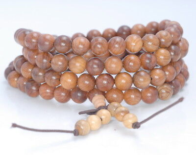 $ CDN7.42 • Buy 8mm Yellow Brown Rosewood Pearwood Round Loose Beads 34
