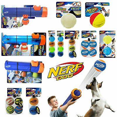 £8.99 • Buy Nerf Dog Toys Tennis Ball Blasters Launchers Reload Balls Accessories 2  & 2.5