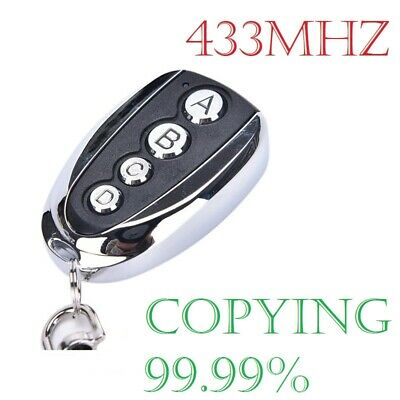 £4.99 • Buy  Home Cloning Electric Gate Garage Door Remote Control Key Fob 433mhz Cloner A++