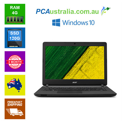 AU229 • Buy Acer ES1 432 Pentium Notebook Laptop 4GB,8GB RAM 120GB,240GB,500GB SSD Wi-Fi