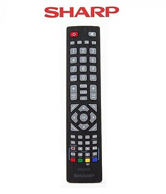 £9.95 • Buy Universal Genuine Sharp Aquos Remote Control For Full HD Smart 3D LED TV's
